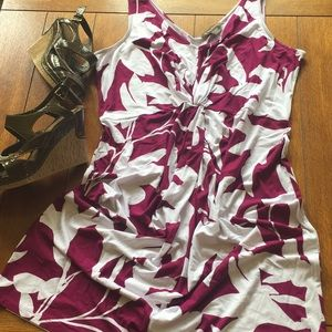 TOMMY BAHAMA Sleeveless Floral Dress XL